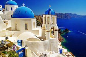 Grece-Athenes, Circuit Combiné 3 îles : Mykonos - Paros - Santorin en 15 jours 2*