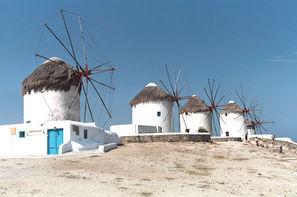 Grece-Athenes, Circuit Combiné 3 îles Mykonos - Paros - Santorin en 15 jours 3*