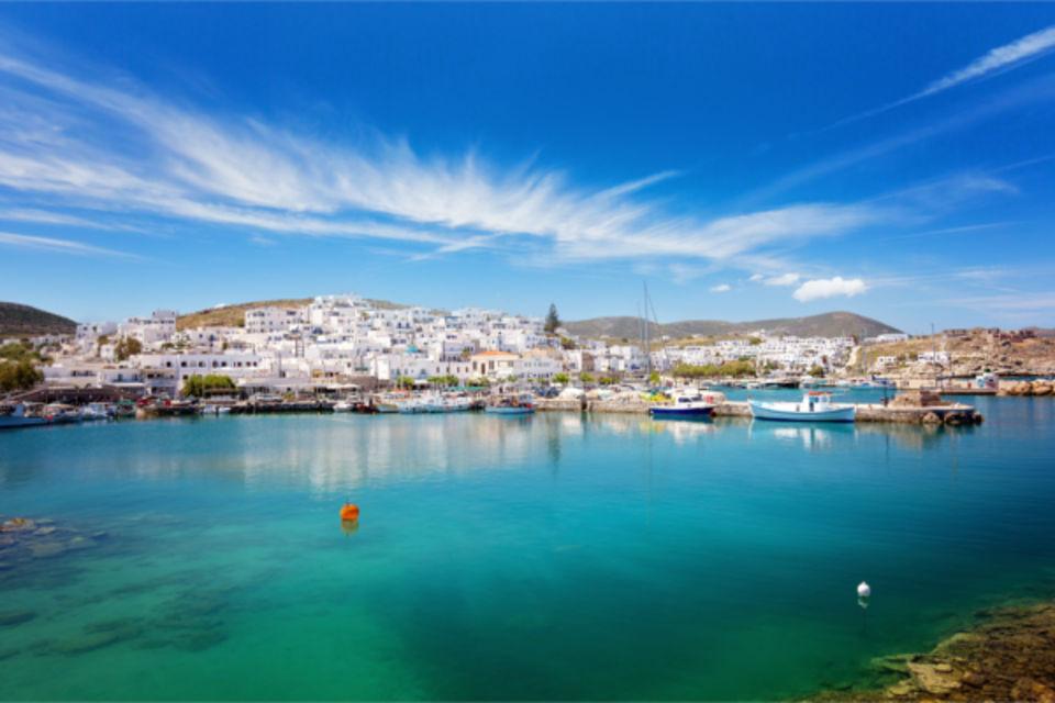 Circuit FRAM Les Cyclades, d'île en île et extension au Framissima Dolce Attica Riviera (3 nuits) Paros Iles Grecques