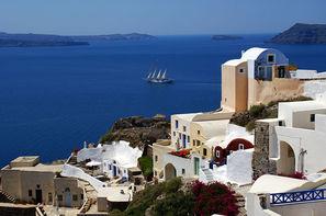 Grece-Athenes, Combiné hôtels Combiné d'îles Paros - Santorin  en 8 jours 3*