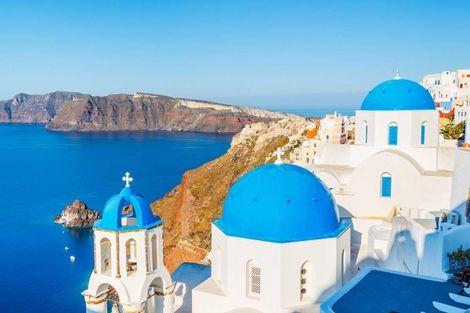 Grece-Santorin, Combiné hôtels Périple dans les Cyclades depuis Santorin - Naxos, Mykonos