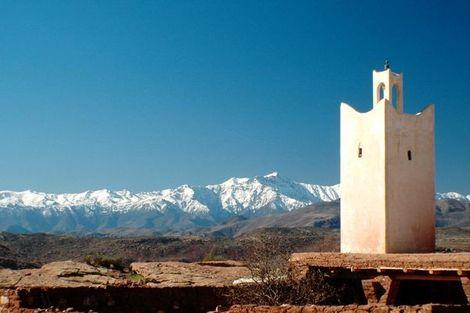 Maroc-Marrakech, Combiné circuit et hôtel  FRAM Boucles Sahariennes en 4x4 et Framissima Les Idrissides 4*