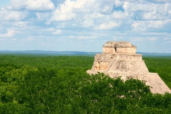 Pyramide Combiné circuit et hôtel Les Merveilles du Yucatan et Chiapas + Riu Tequila Cancun Mexique