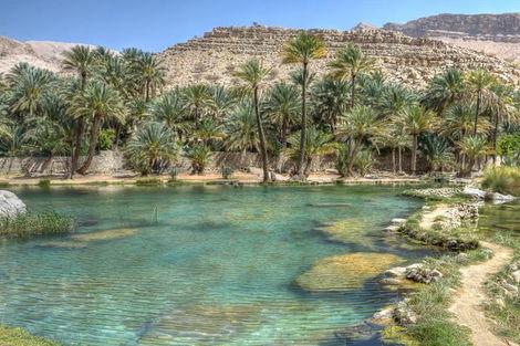 Oman-Mascate, Combiné circuit et hôtel Oman & Bravo Club Salalah