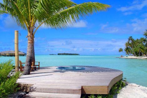 Polynesie Francaise-Papeete, Combiné hôtels 4 îles : Tahiti – Huahine– Bora Bora – Moorea 3* sup