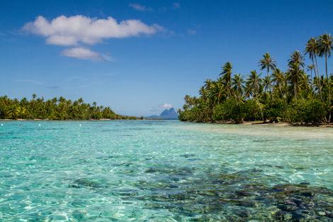 Polynesie Francaise-Papeete, Combiné hôtels 4 îles : Tahiti - Moorea - Raiatea - Bora Bora