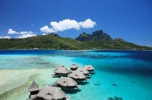 Polynesie Francaise-Papeete, Combiné hôtels Trois îles au Sofitel : Tahiti, Moorea et Bora Bora 4* sup
