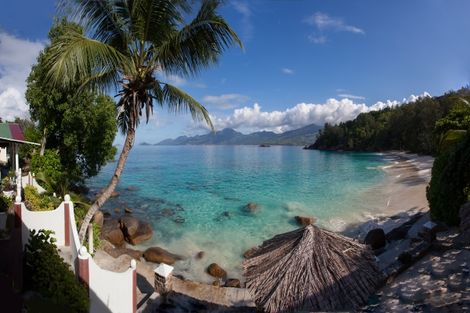 Seychelles-Mahe, Hôtel 2 îles - Britannia Hotel & Anse Soleil beachcomber 3*