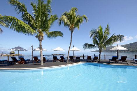 Seychelles-Mahe, Combiné hôtels 2 îles Mahé et Praslin : Le Méridien Fisherman's Cove + Acajou