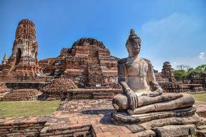 Thailande-Bangkok, Combiné circuit et hôtel Au Pays du Sourire et Jomtien 3*/4*