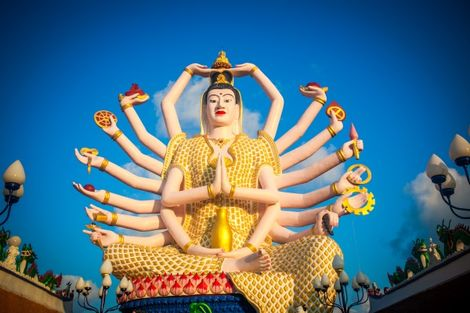 Thailande-Bangkok, Combiné hôtels - Court séjour Bangkok & Koh Samui au Am Samui Palace 4*