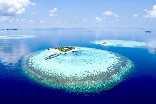 Lagon Croisière A la voile Maldives Male Maldives