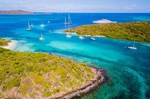 Croisière Grenadines + séjours à Union et Ste Lucie