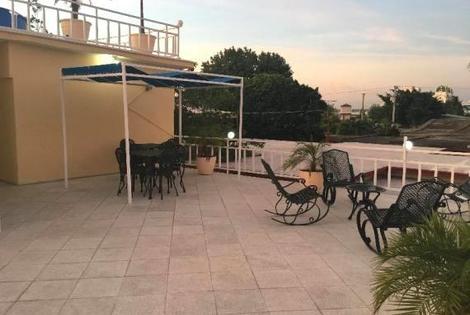 Cuba-La Havane, Hôtel Hostal Nautico 3*