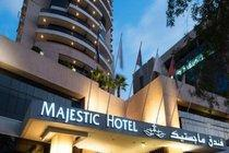 Dubai et les Emirats-Dubai, Hôtel Majestic Hotel Tower 4*