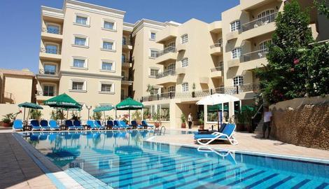 Egypte-Hurghada, Hôtel Elysees 3*