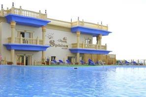 Egypte-Hurghada, Hôtel Sphinx Resort 4*