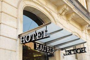Espagne-Barcelone, Hôtel Lauria 3*
