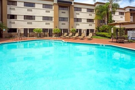 Etats-Unis-Los Angeles, Hôtel Holiday Inn Santa Ana orange Co. Arpt 3*