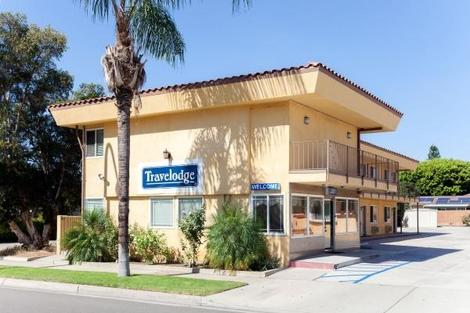 Etats-Unis-Los Angeles, Hôtel Travelodge Brea 3*