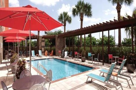 Etats-Unis-Miami, Hôtel Home2 Suites Florida City 4*