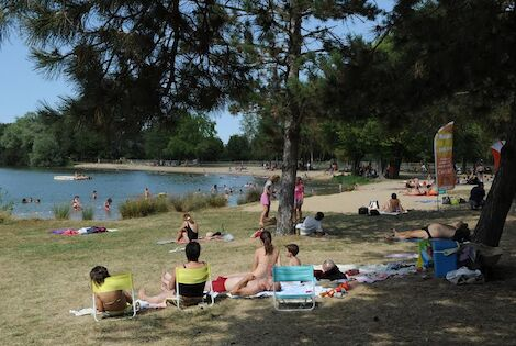 France Centre : Camping Le Rochat