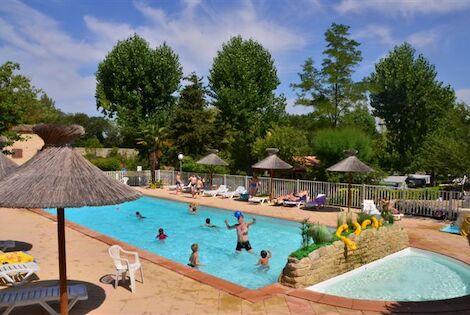 France : Camping Le Mas de Reilhe