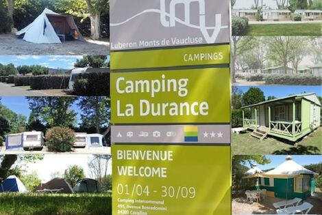 France : Camping Intercommunal de la Durance