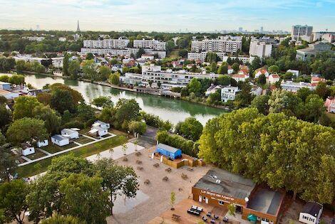 France : Camping Paris Est