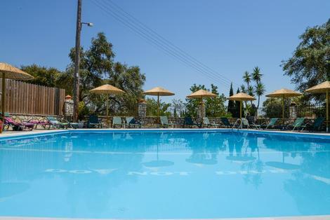 Grece-Corfou, Hôtel Villa Yannis Hotel Apartments & Suites 4*