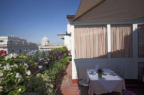 Italie-Rome, Hôtel Doria 3*