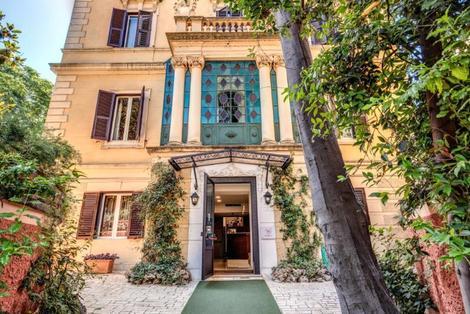 Italie-Rome, Hôtel Rome Garden 3*