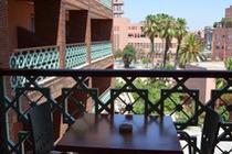 Maroc-Marrakech, Hôtel Almas 3*