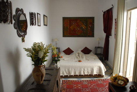 Maroc-Marrakech, Hôtel Dar Zemrane 4*