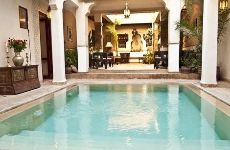Hôtel Riad Aladdin Marrakech Maroc