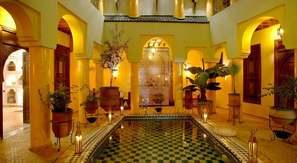 Maroc-Marrakech, Hôtel Riad Alida 4*