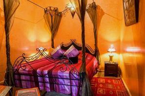 Maroc-Marrakech, Hôtel Riad Bahia 4*