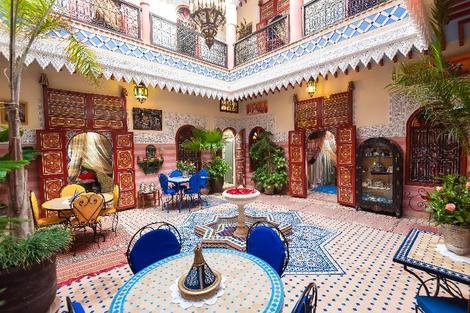Hôtel Riad Bleu Du Sud Marrakech Maroc