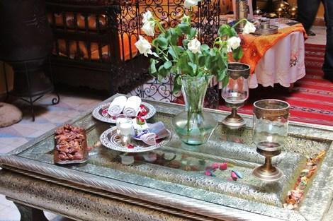 Maroc-Marrakech, Hôtel Riad Sacr 3*