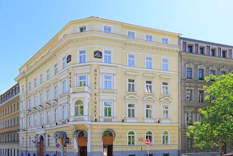 Republique Tcheque-Prague, Hôtel Kinsky Garden 4*