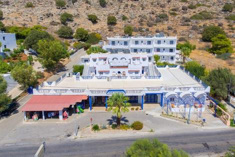 Rhodes-Rhodes, Hôtel Palm Bay 3*
