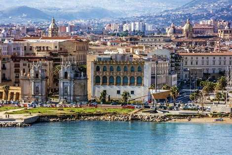 Sicile et Italie du Sud-Palerme, Hôtel Jardin De France 3*