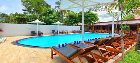 Sri Lanka-Colombo, Hôtel Paradise Beach 3*