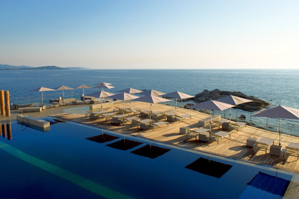piscine extérieure - Sofitel Golfe d'Ajaccio Thalassa Sea & Spa Hôtel Sofitel Golfe d'Ajaccio Thalassa Sea & Spa5* Porticcio France Corse