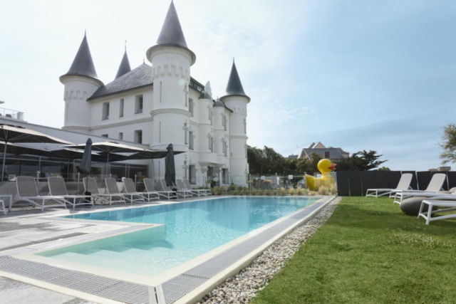 Vacances thalasso Cote Atlantique Hôtel Chateau des Tourelles