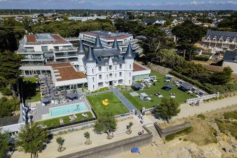 France Cote Atlantique : Hôtel Château des Tourelles