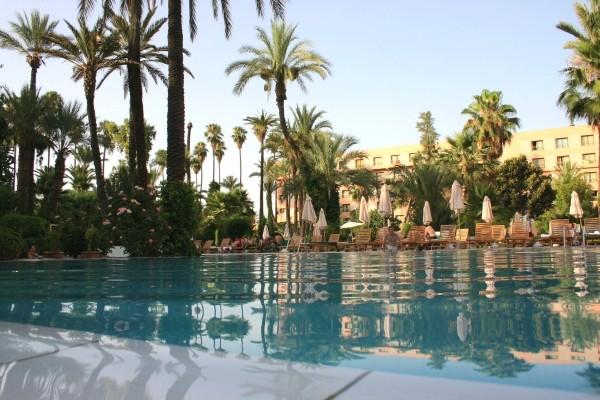 Vue de la piscine - Le Farah Hôtel Le Farah5* Marrakech Maroc