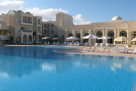 PISCINE EXTERIEUR - Azurea Hôtel Azurea4* Djerba Tunisie