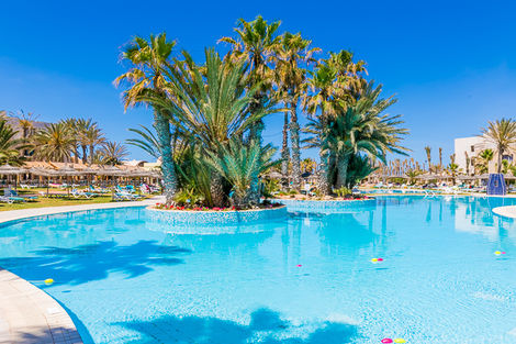 Tunisie-Djerba, Hôtel Welcome Meridiana 4*