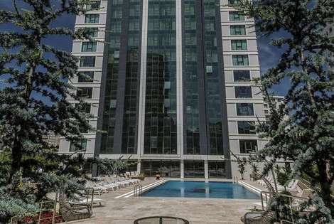 Turquie-Istanbul, Hôtel Bof Hotels Ceo Suite Atasehir 5*